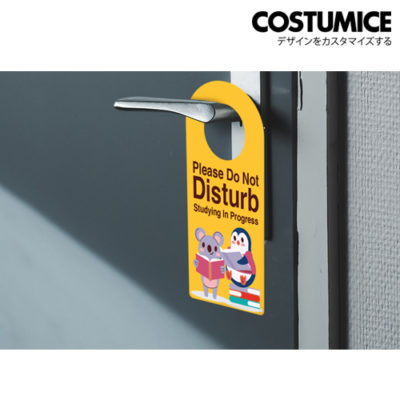 Costumice design door hanger 4