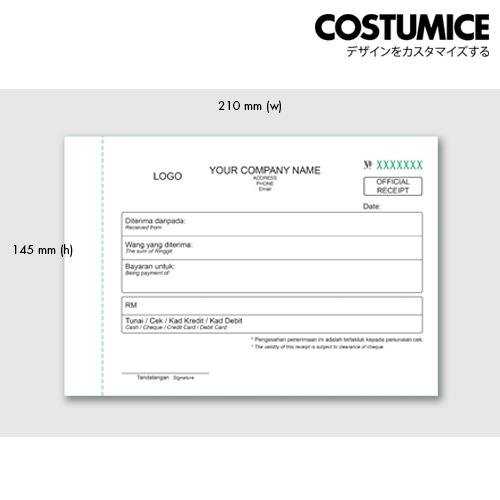 Costumice design medium size Multipurpose bill book 3