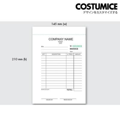 Costumice design medium size Multipurpose bill book 4