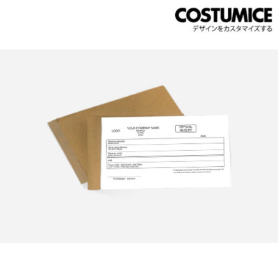 Costumice design receipt book 2