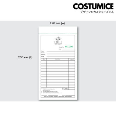 Costumice design small size Multipurpose bill book 3
