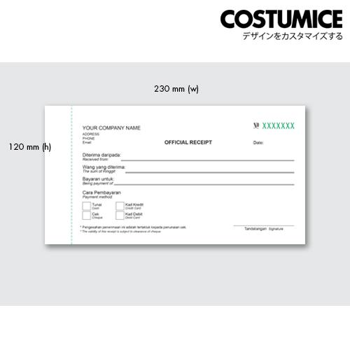 Costumice Design Small Size Multipurpose Bill Book 4