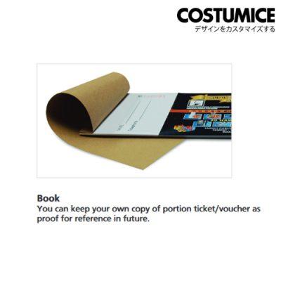 costumice design book form voucher 5