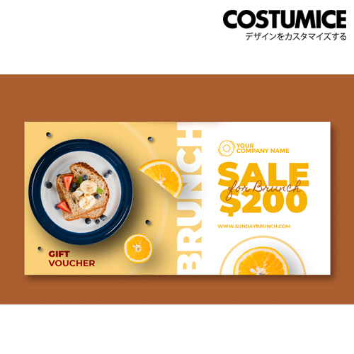 costumice design pad form voucher 5