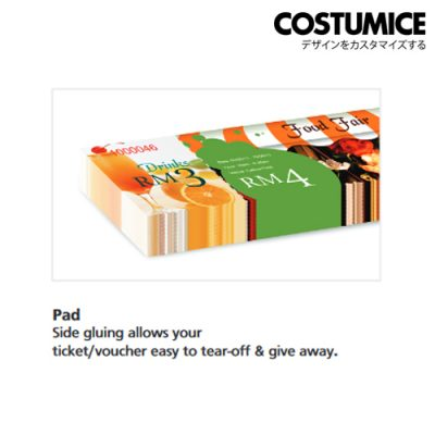costumice design pad form voucher 7