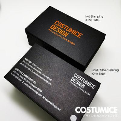 Costumice Design 500gsm Premium Super Black Card 5