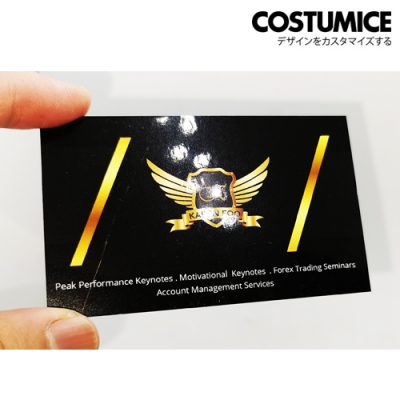 Costumice Design Gloss Laminated Name Card 1
