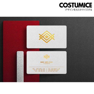 Costumice Design Hot Stamped Name Card 4