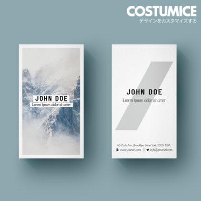 Costumice Design Matt Laminated Name Card 3