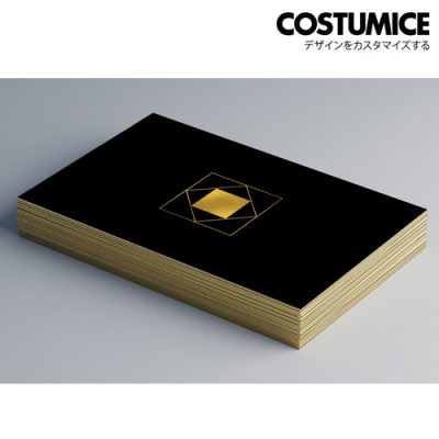 Costumice Design Painted edge business cards 1