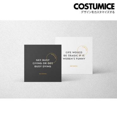 Costumice Design Square Name Card 1