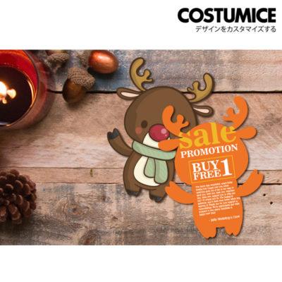 costumice design custom shaped name card 1