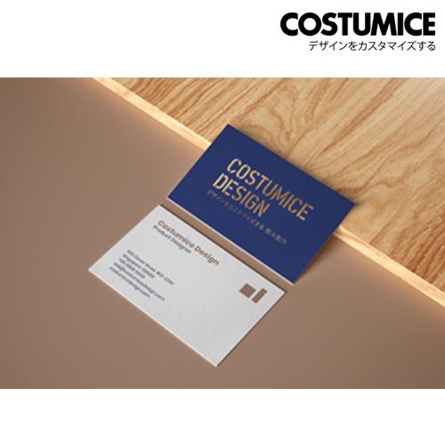 Costumice Design Metalic Foil Name Card 2