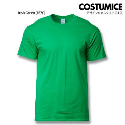 costumice design premium cotton t-shirt-Irish Green