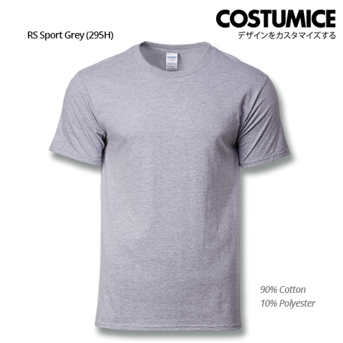 costumice design premium cotton t-shirt-RS Sport grey
