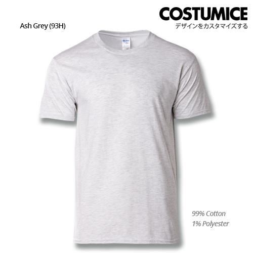 costumice design premium cotton t-shirt-ash grey