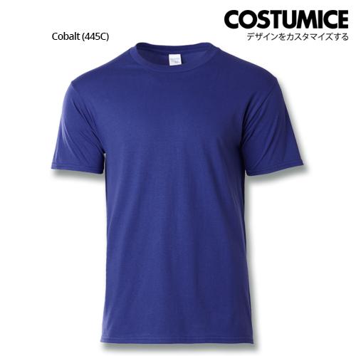 costumice design premium cotton t-shirt-cobalt