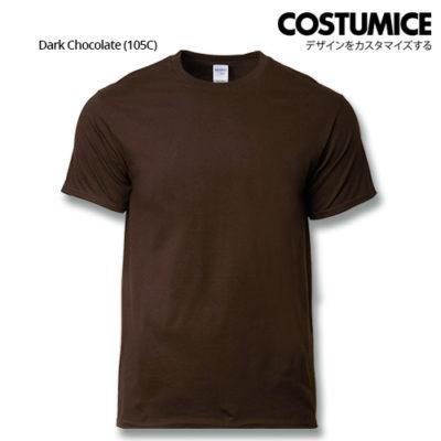 costumice design premium cotton t-shirt-dark chocolate