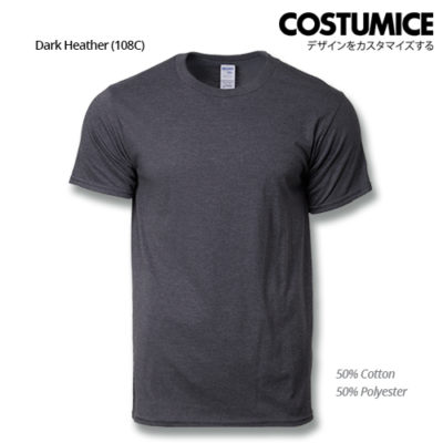 costumice design premium cotton t-shirt-dark heather