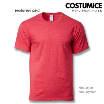 costumice design premium cotton t-shirt-heather red