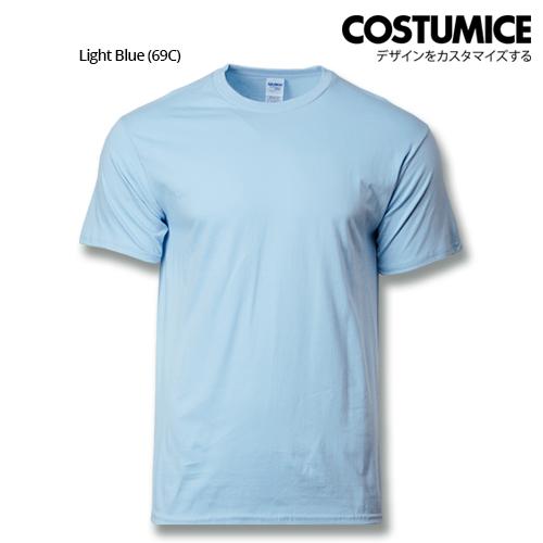 costumice design premium cotton t-shirt-light blue