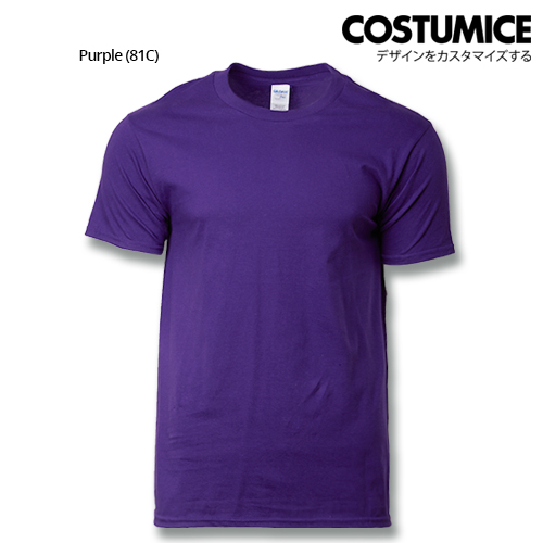 costumice design premium cotton t-shirt-purple