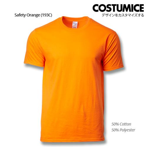 costumice design premium cotton t-shirt-safety-orange