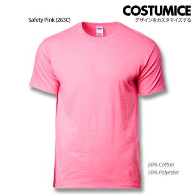 costumice design premium cotton t-shirt-safety-pink