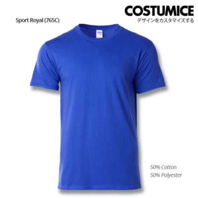 costumice design premium cotton t-shirt-sport royal