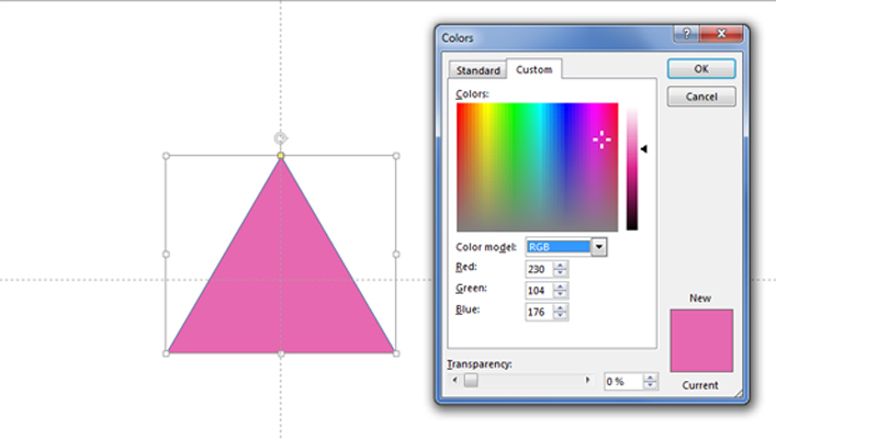 Example Of Rgb Colour In Power Point