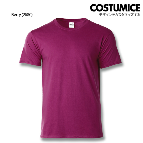 costumice design heavy cotton t-shirt-Berry