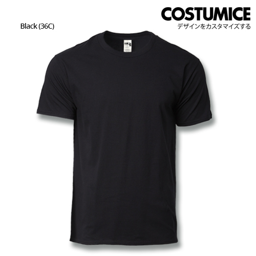 costumice design heavy cotton t-shirt-Black