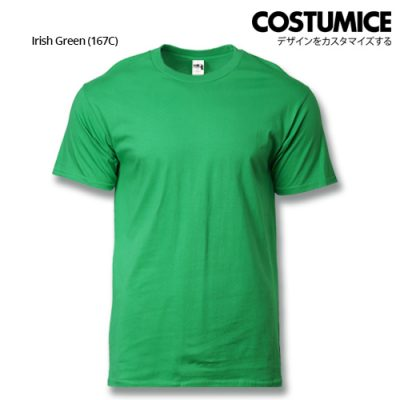 costumice design heavy cotton t-shirt-Irish Green