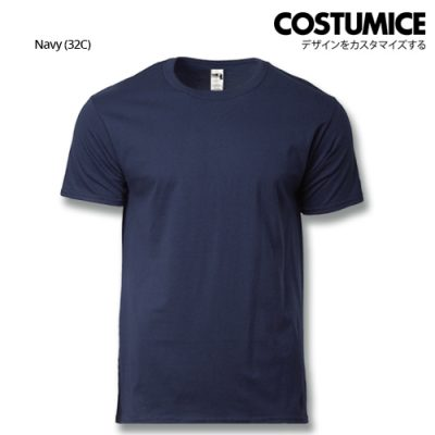 costumice design heavy cotton t-shirt-Navy