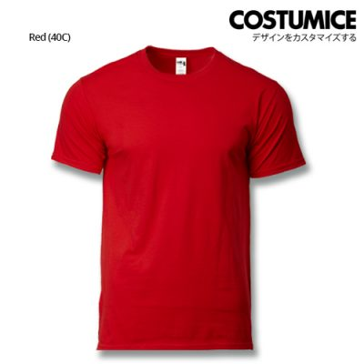 costumice design heavy cotton t-shirt-Red