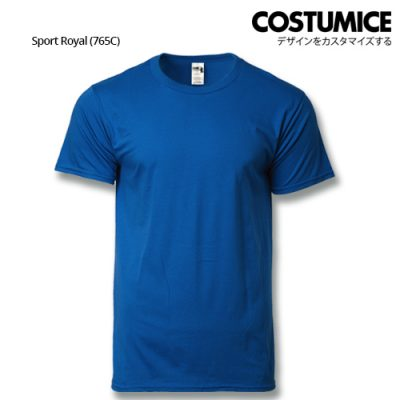 costumice design heavy cotton t-shirt-Sport Royal