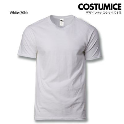 costumice design heavy cotton t-shirt-White