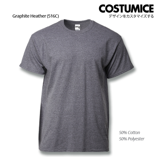 costumice design heavy cotton t-shirt-graphite heather