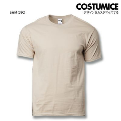 costumice design heavy cotton t-shirt-sand