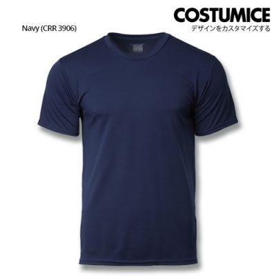 Costumice Design Quick Dry Plus+ Performance T-Shirt-Navy