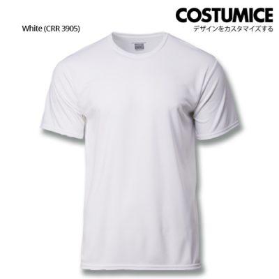 Costumice Design Quick Dry Plus+ Performance T-Shirt-White