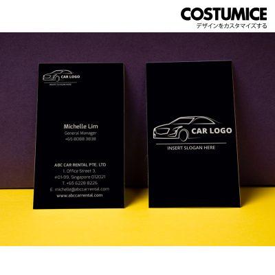 Costumcie Design Multipurpose name card template CDS-GEN-06-01