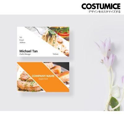 Costumcie Design Multipurpose name card template CDS-GEN-08-01