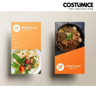 Costumcie Design Multipurpose name card template CDS-GEN-09-01