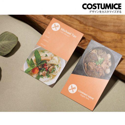 Costumcie Design Multipurpose Name Card Template Cds-Gen-09-02