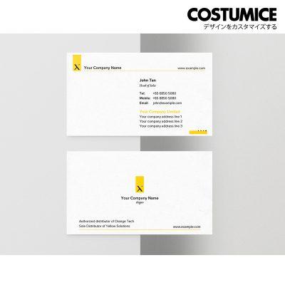 Costumcie Design Multipurpose name card template CDS-GEN-12-01