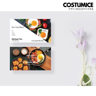 Costumcie Design Multipurpose name card template CDS-GEN-14-01