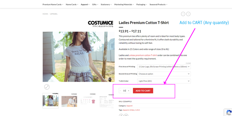 Costumice Design How To Get Special Wholesale Price Offer - Add Tso Cart