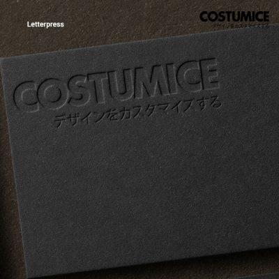 Costumcie Design Letterpress Printing Singapore 3