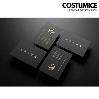 Costumcie Design Premium Name Card 800Gsm Premium Super Black Card 3